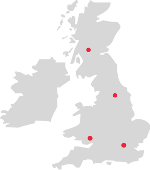 Depots map