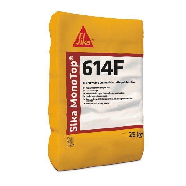 Sika MonoTop 614 F 25kg - Pallet Deal 40 bags - Free Delivery