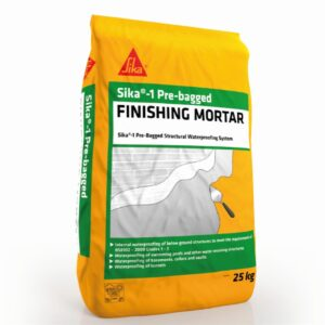 Sika-1 Pre-Bagged Finishing Mortar – Free Next Day Express Delivery