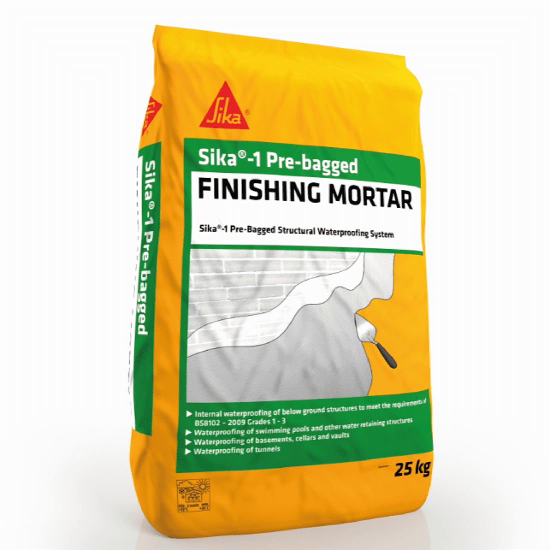 Sika-1 Pre-Bagged Finishing Mortar