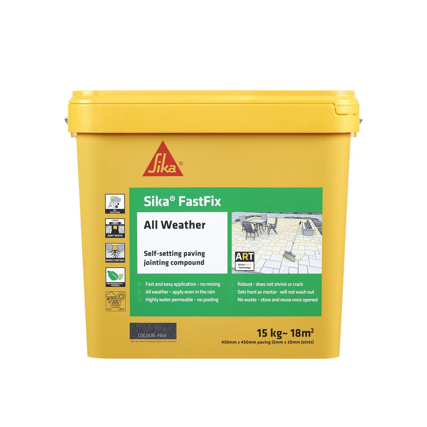 Sika FastFix - All Weather Jointing Compound - Flint - Free Next Day Express Delivery!