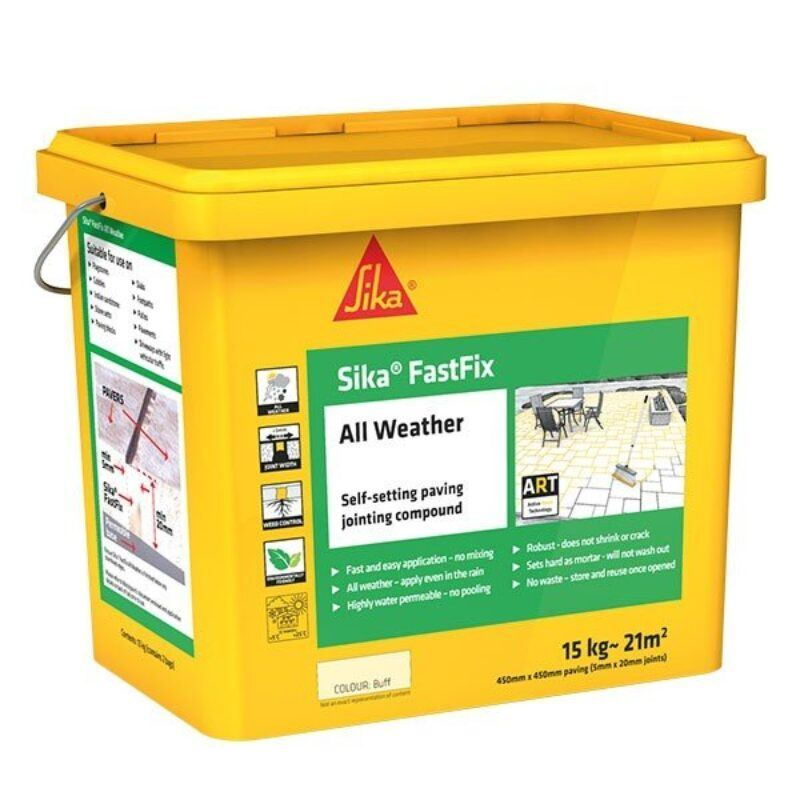 Sika FastFix – All Weather Jointing Compound- Stone – Free Next Day Express Delivery!