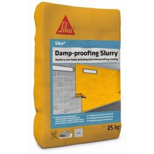 Sika Damp-Proofing Slurry (Grey) 25kg – Free Next Day Express Delivery