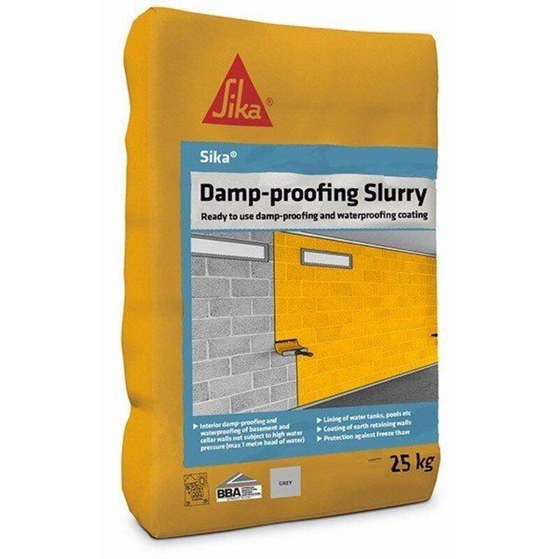 Sika Damp-Proofing Slurry (Grey) 25kg