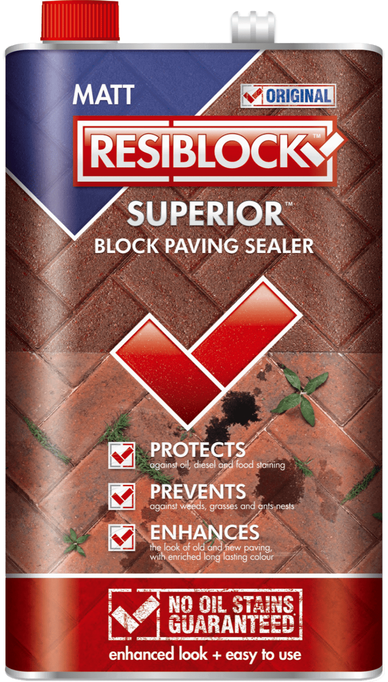 Resiblock Superior Original Block Paving Sealer (Natural) 25L
