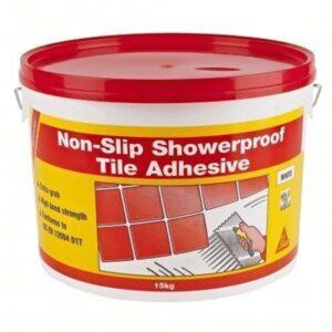 SikaCeram Non-Slip Showerproof Tile Adhesive 15kg