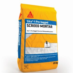 Sika-1 Pre-Bagged Screed Mortar – Free Next Day Express Delivery