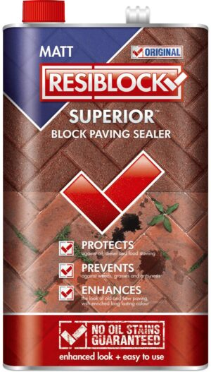 Resiblock Superior Original Block Paving Sealer (Natural) 5L