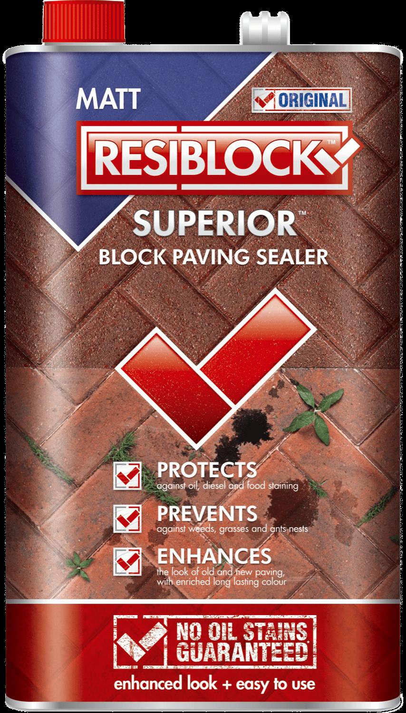 Resiblock Superior Original Block Paving Sealer (Natural) 5L