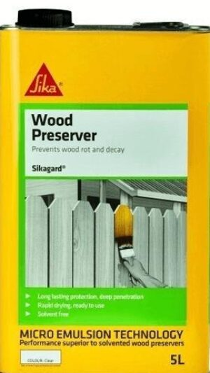 Sikagard Wood Preserver 5L – Free Next Day Express Delivery!