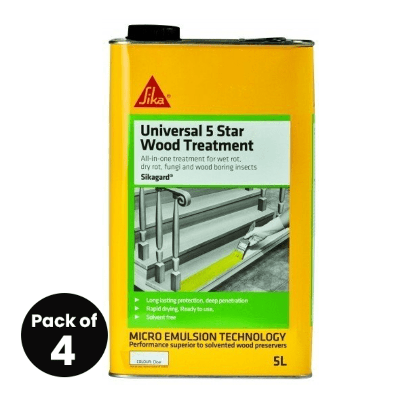 Sikagard Universal 5 Star Wood Treatment 5L – Free Next Day Express Delivery!