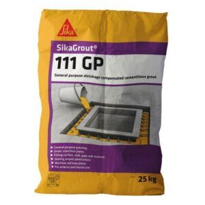 SikaGrout 111 GP 25kg – Free Next Day Express Delivery!