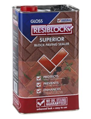Resiblock Superior Original Block Paving Sealer (Gloss) 5L