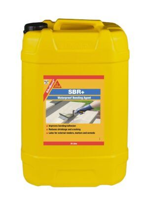 SikaBond SBR+ Waterproof Bonding Agent 25L