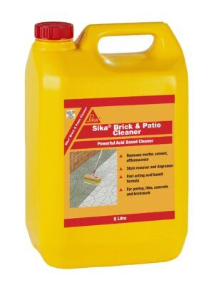 Sika Brick and Patio Cleaner 5L – Free Next Day Express Delivery!