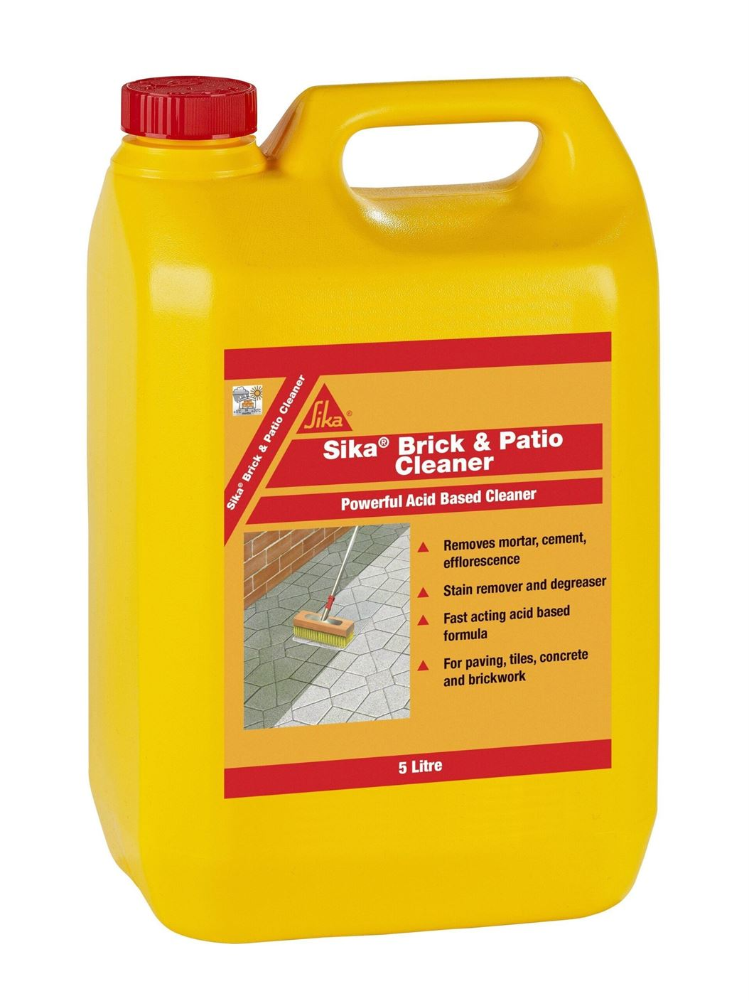 Sika Brick and Patio Cleaner 5L - Free Next Day Express Delivery!
