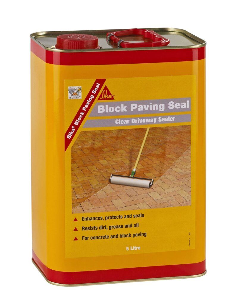 Sika Block Paving Seal 5L Free Next Day Express Delivery!