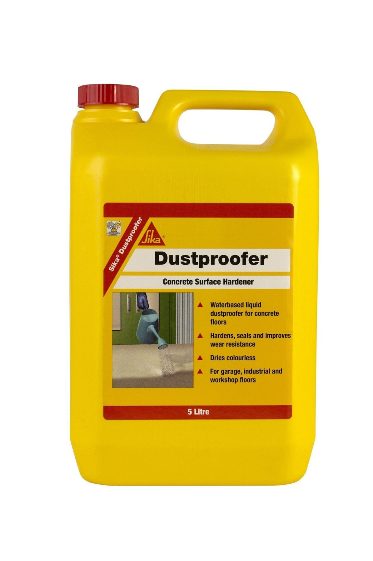 Sika Dustproofer 5L - Free Next Day Express Delivery