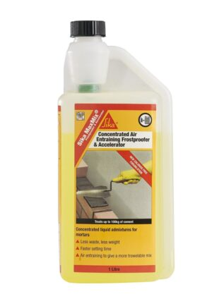 Sika MaxMix Concentrated Frostproofer & Accelerator 1L