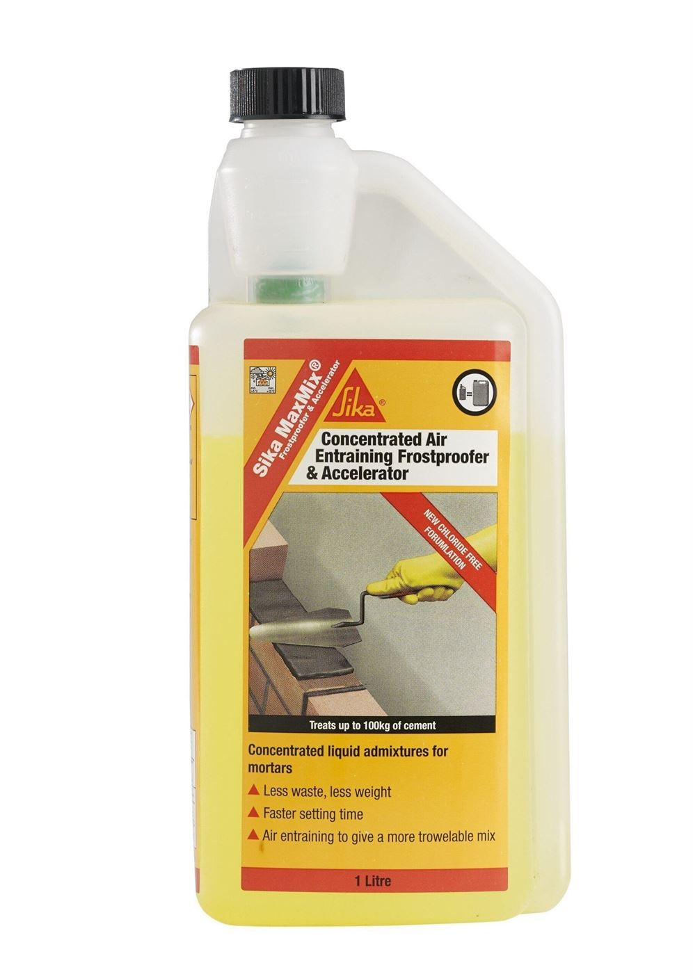 Sika MaxMix Concentrated Cement Colour (Yellow) 1L