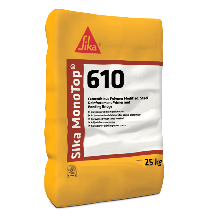 Sika MonoTop 610 25kg - Free Next Day Express Delivery