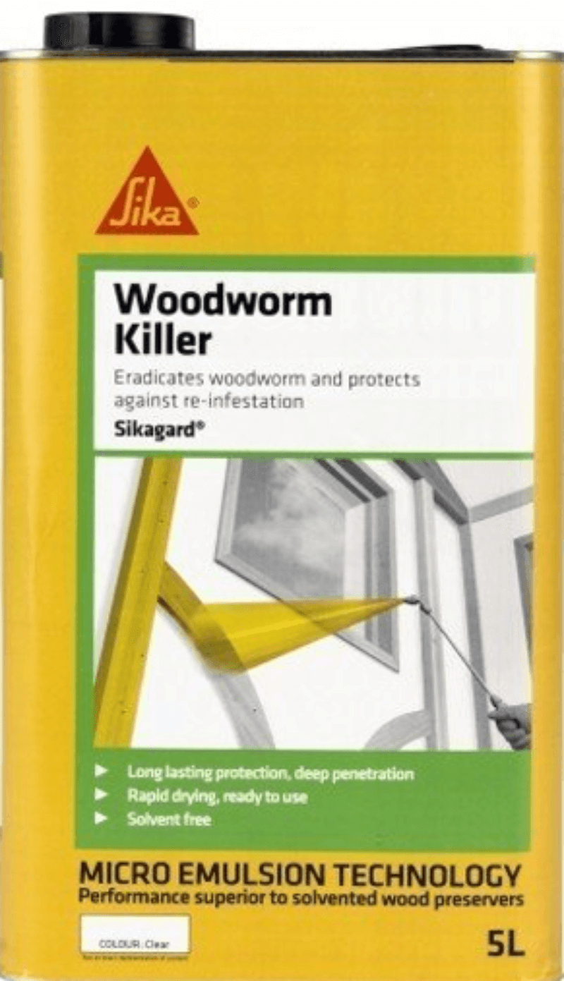 Sikagard Woodworm Killer 5L – Free Next Day Express Delivery!