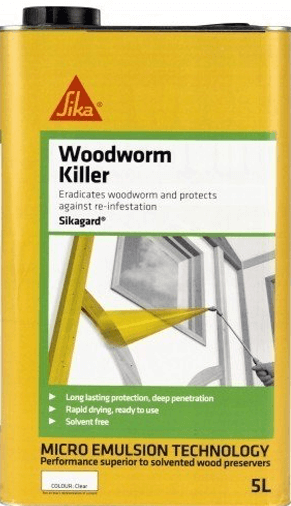 Sikagard Woodworm Killer 5L - Free Next Day Express Delivery!