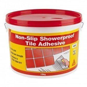 SikaCeram Non-Slip Showerproof Tile Adhesive 7.5kg