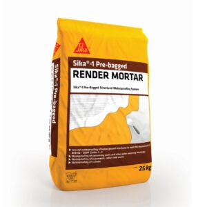 Sika 1 Pre Bagged Render Mortar – Free Next Day Express Delivery