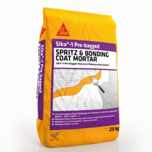 Sika-1 Pre-Bagged Spritz Mortar
