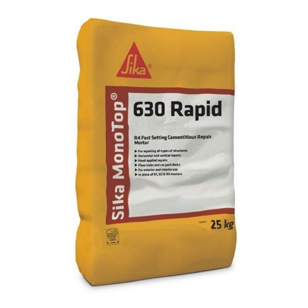 Sika MonoTop 630 Rapid - Free Next Day Express Delivery!