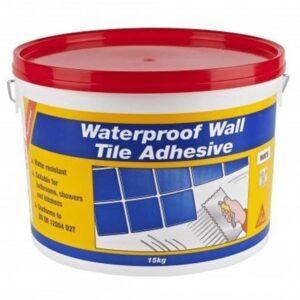 SikaCeram Waterproof Wall Tile Adhesive 15kg