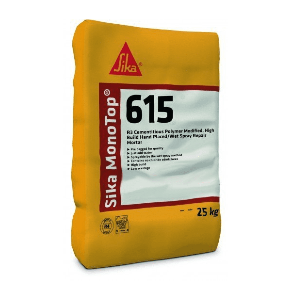 Sika MonoTop 615 25kg - Pallet Deal - 40 bags - Free Delivery