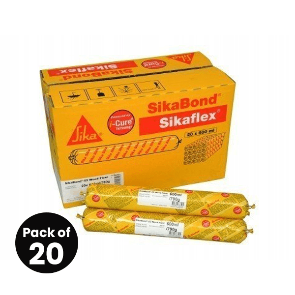 SikaBond 52 - Wood Floor Adhesive 600ml - Free Next Day Express Delivery!