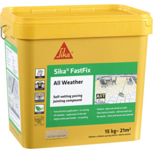 Sika FastFix – All Weather Jointing Compound Dark Buff – Free Next Day Express Delivery