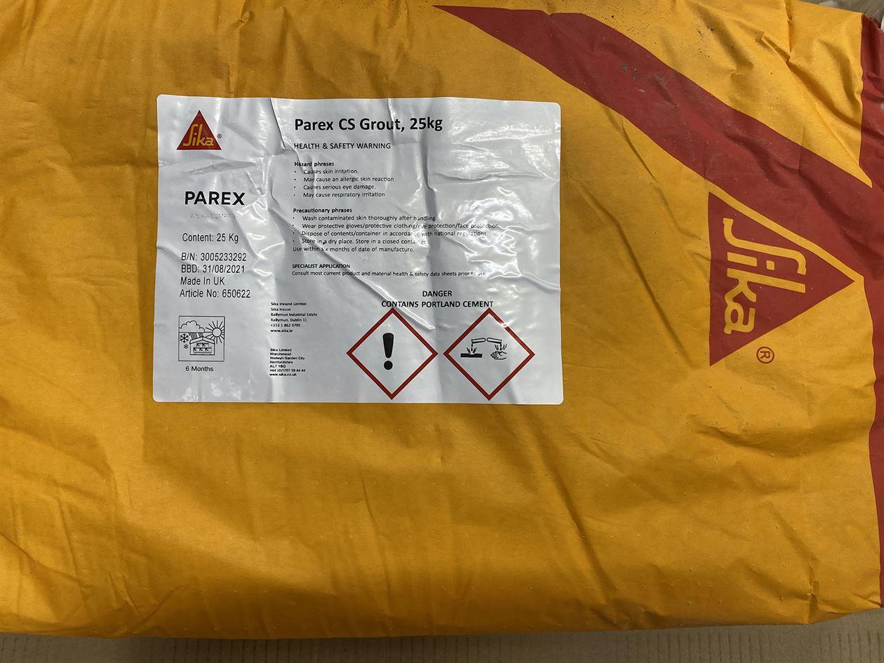 Sika Parex CS Grout 25kg  x 40 bags