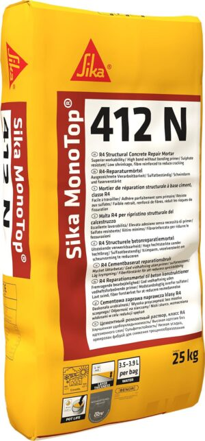 Sika MonoTop 412 N Concrete Repair Mortar – Free Next Day Express Delivery