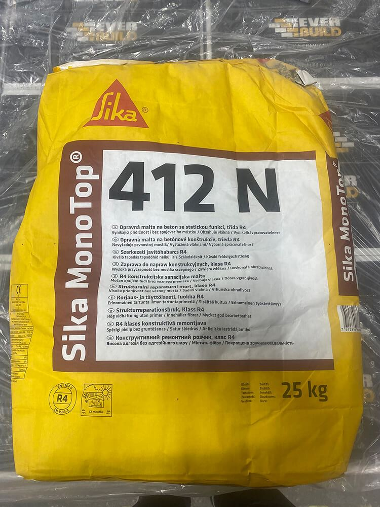 Sika MonoTop - 412 N Concrete Repair Mortar -Free Next Day Express Delivery