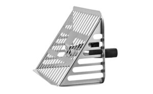 Horizontal Roof Outlet and Leaf Grate