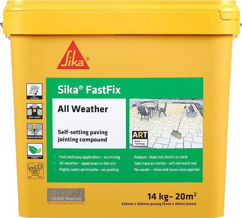 Sika FastFix All Weather Jointing Compound - Free Next Day Express Delivery
