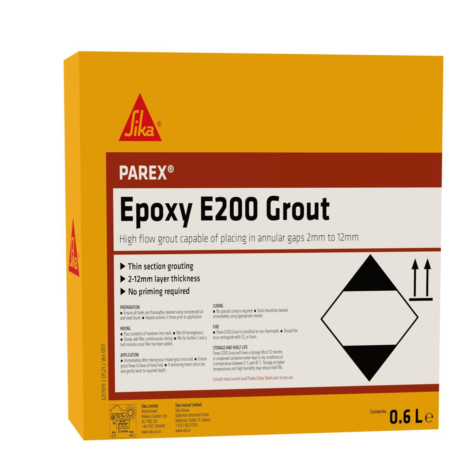 Parex Epoxy 200 Grout