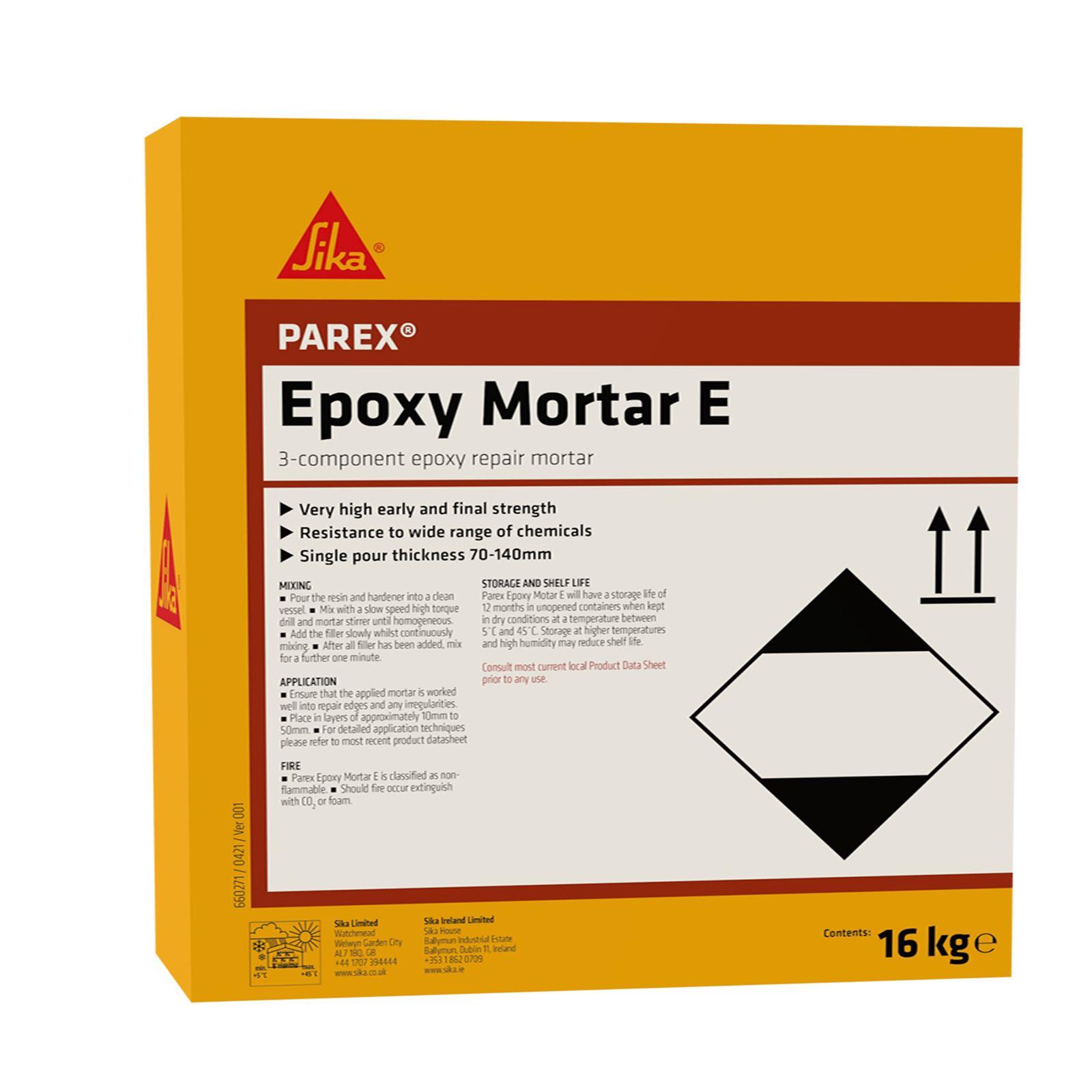 Parex Epoxy Mortar E Fine Grade