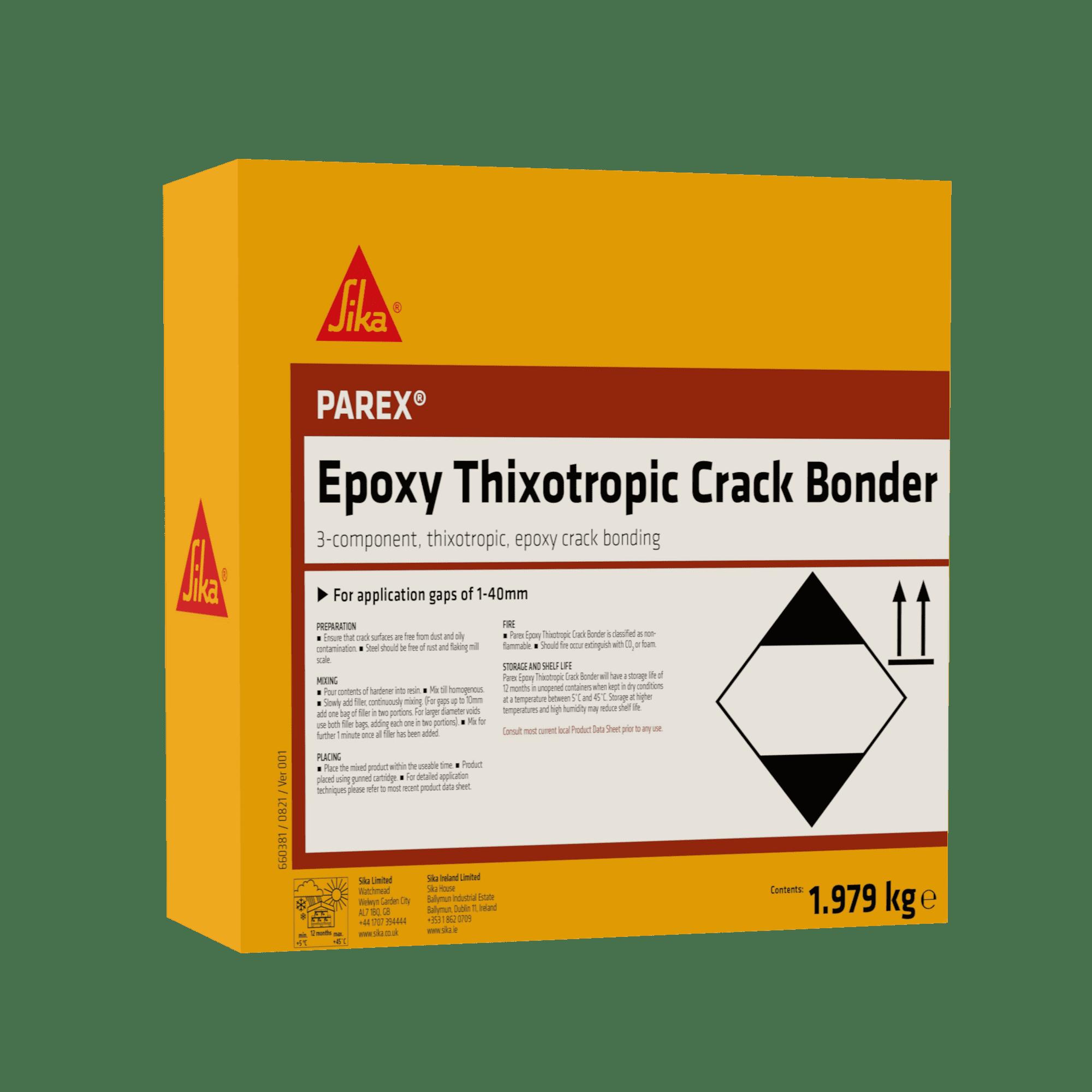 Parex Epoxy Thixotropoic Crack Bonder