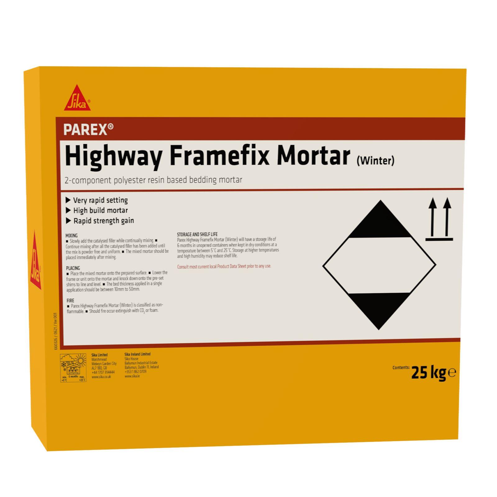Parex Highway Framefix Mortar Summer